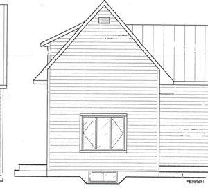 plan facade et coté
